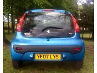£20 TAX X YEAR 2007 PEUGEOT 107 URBAN 998 CC 67 BHP 12 MONTHS MOT 103000 MILES