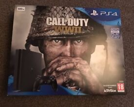 PS4 console call of duty bundle, brand new in box