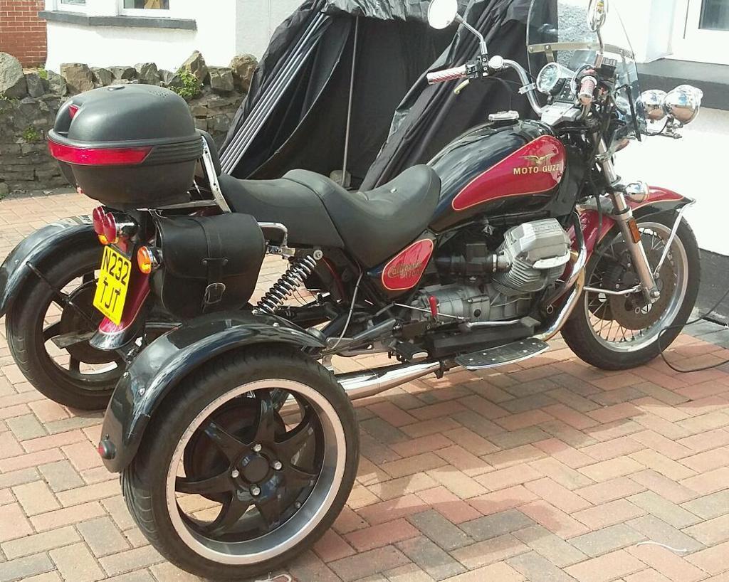 moto guzzi california 1100i trike in newport gumtree. Black Bedroom Furniture Sets. Home Design Ideas