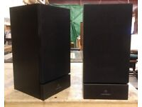 Linn Index MKII (LS-120) Speakers with Ku Stone Stands