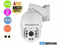 HIGH SPEED AHD PTZ DOME CAMERA FOR CCTV CAMERAS WITH 30 X ZOOM 2MP 1080P IR NIGHT