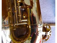 Yamaha YAS-25 Yamaha Alto Sax with a neck strap, mouthpiece and its original case, very good order.