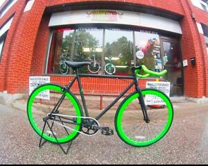 BRAND NEW Zycle Fixed Gear @ Harvester Bikes LOTS OF COLOURS!