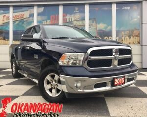 2015 Ram 1500 SLT 4X4 V6 One Owner, Accident-Free, Remote Start