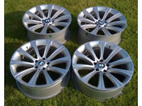 BMW M5 Staggered 20x8.5/9.5J 5x120 Style 166 Replica Alloy Wheels