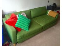 Karlstad 3 seater Sofa - 2 person Bed - Green