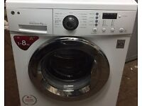 LG F1489TD 8kg 1400 Spin White LCD Silent A++ Rated Washing Machine 1 YEAR GUARANTEE FREE FITTING