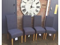Set Of Four, Superb New, Dining Chairs.