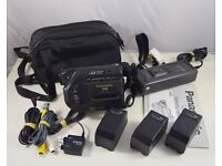 Panasonic NV-S5B VHS-C Movie Camcorder inc Bag, Instructions, Charger etc