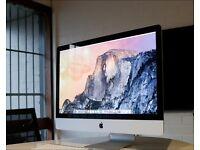 "27"" iMac with retina screen"