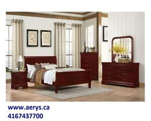 WHOLESALE FURNITURE WAREHOUSE LOWEST PRICE  WWW.AERYS.CA !! bed in queen starts from $129,we also carry Ashley Furniture