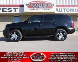 2011 GMC Yukon SLT 8 PASS 4X4, LEATHER,ROOF, LOADED!