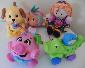 Fisher Price and Lamaze Baby toy bundle £10 for all collection from Shepshed.