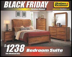 BLACK FRIDAY Bedroom Set Deal-Only $1238