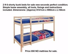 Bunk beds new
