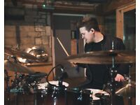 DRUMMER AVAILABLE - UK - EXPERIENCED DEP/SESSION/REMOTE/PROJECTS - GIGS/LIVE/STUDIO - SEE WEBSITE