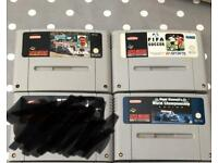 Three Snes Games and a Controller.