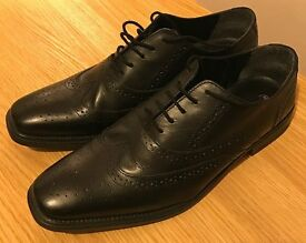 BRAND NEW Size 10 Black Smart Shoes for Sale