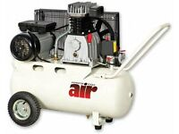 Air Compressor Axminster AWBD3050 50ltr 2.2kw max pressure 115psi with pin/staple gun & die grinder