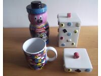 Allsorts sweet jars & containers collectable items ceramic alternative Easter gift Happy to split