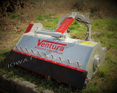 63 Flail Pruning Mulcher Shredder Whyd Offsetrake Cut 4dia Ventura Tva160