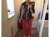 Ladies Skiwear! Snow boots, Salopettes, Ski jacket