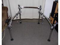 Roland V Drums MDS-25 chrome drum rack integral crystal cables PRO stand frame