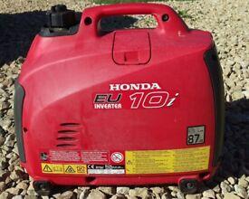 Honda EU10i Inverter Petrol Generator 1kW 230 Volt - Horwich, Bolton,