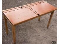 Vintage Classroom Desk
