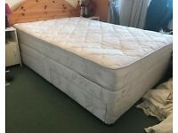 Silent Night Double Divan Bed with 4 drawers & headboard