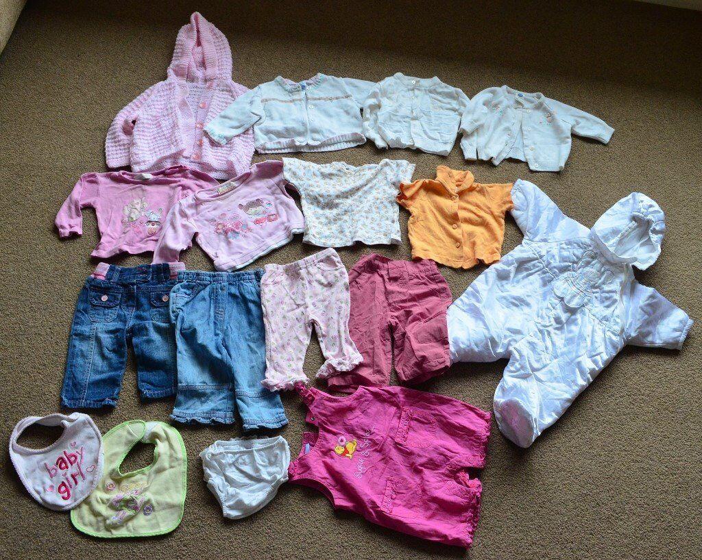 Baby Girl bundle clothes job lot size 3-6 months