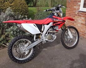 HONDA CRF250X 2004 - Only 35hrs use