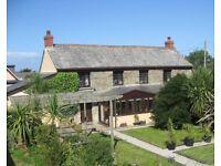 4 bedroom Cornish farmhouse in Rose nr Perranporth