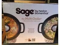 Heston Blumenthal Sage multi-function slow cooker