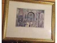 Framed Paul Klee print