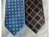 10 Assorted Men's Neck Ties For Sale