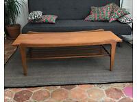 RETRO Danish Modern Teak 50s coffee table vintage
