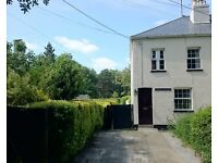 3 Bedroom Cottage in Quiet Location with easy access to the A38 and the Moors on cycle path route