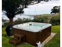 Blue Whale Spa Newport II - 6 seater Energize Hot Tub (£5500 new) 10 months old.