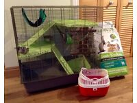 Rat/ Ferret Cage + accessories