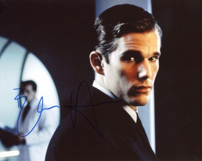 "Ethan Hawke ""Gattaca"" AUTOGRAPH Signed 8x10 Photo C ACOA"