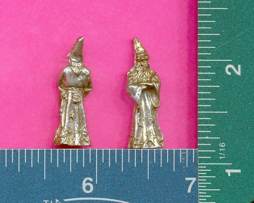 100 wholesale lead free pewter wizard figurines m11082
