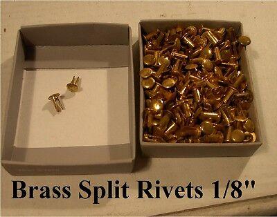"Разное Brass Split Rivets 1/8"" dia."