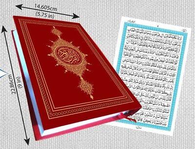 HOLY QURAN HAFIZI 15 lines Arabic Mushaf  Madina style Persian Indo Pak A5