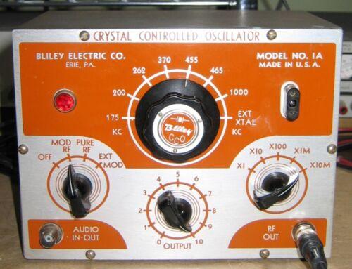 Rare Bliley Crystal Controlled Oscillator Model 1A Amplifier Tube   AWA SSS# 238