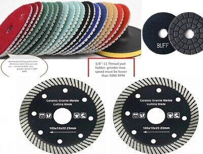 4 Granite Concrete Polishing Pad 98 And 25 Ceramics Marble Porcelain Saw Blade