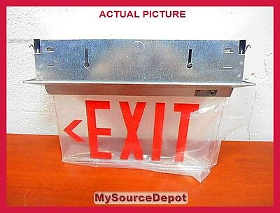 Isolite Elt Series Die-cast Aluminum Housing Acrylic Exit Sign Battery Bu