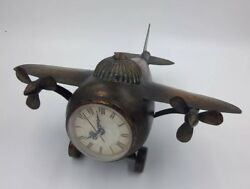 IMAX Lindbergh Aviation Clocks Airplane 2708-2 3 Face