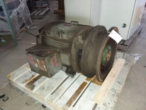 100 HP General Electric Motor, 1800 RPM, 404TSD Frame, DP, 230/460 V, 1.15 S.F.