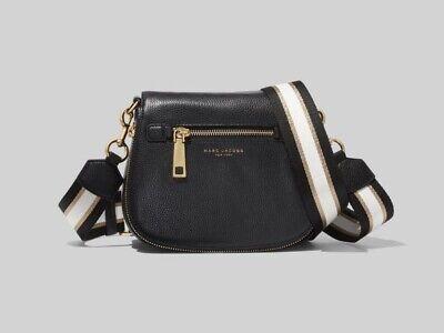 Marc Jacobs Gotham Nomad Leather Crossbody Bag - Black